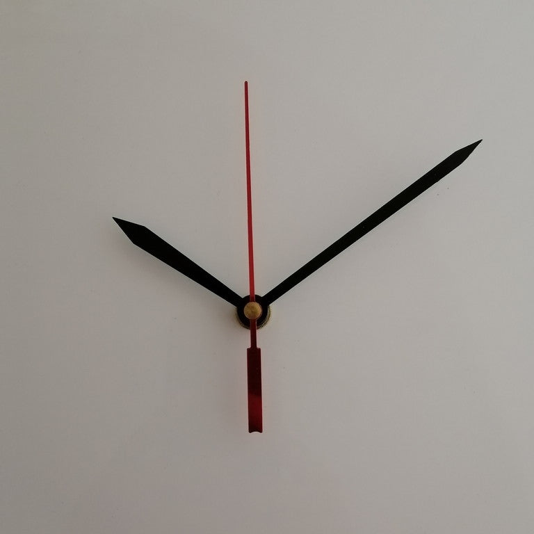 Clock Mechanism - Black N Red 2