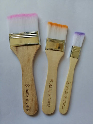 Synthetic Brush - Set of 3