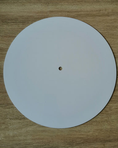 Acrylic Clock Base - Round - 12""