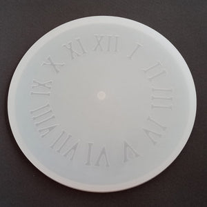 Silicon Mould - Clock Mould - 12""