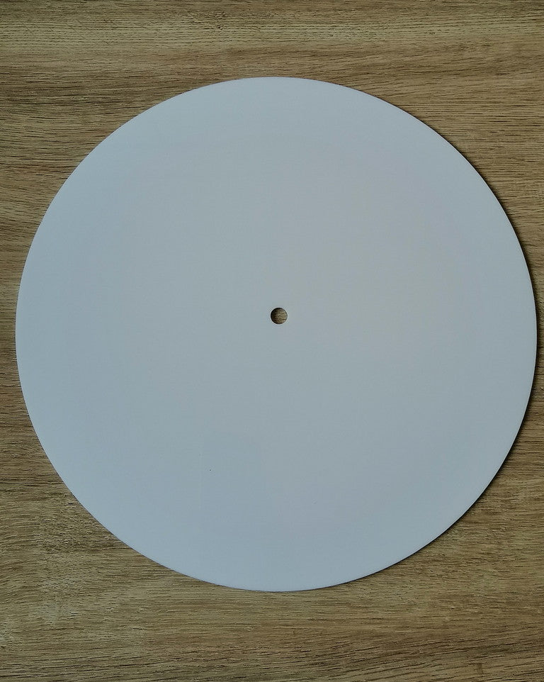 Acrylic Clock Base - Round - 8""