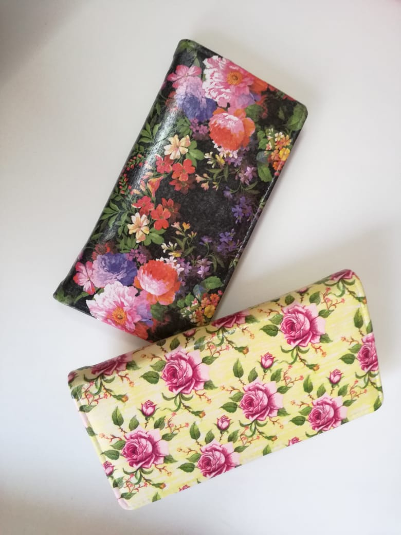 Decoupage Clutch