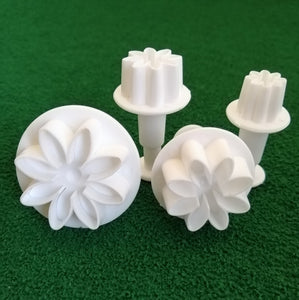 Plunger Cutter - Daisy, 4 Pieces