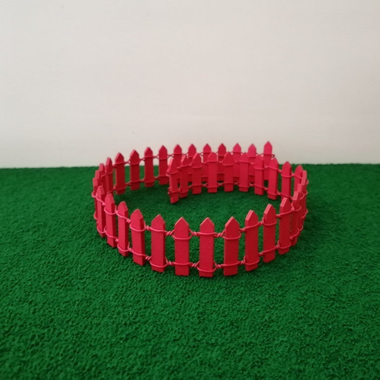 Miniature Fence - Red