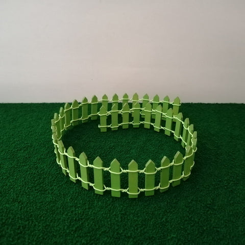 Miniature Fence - Green