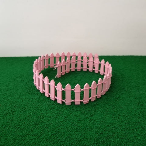 Miniature Fence - Pink