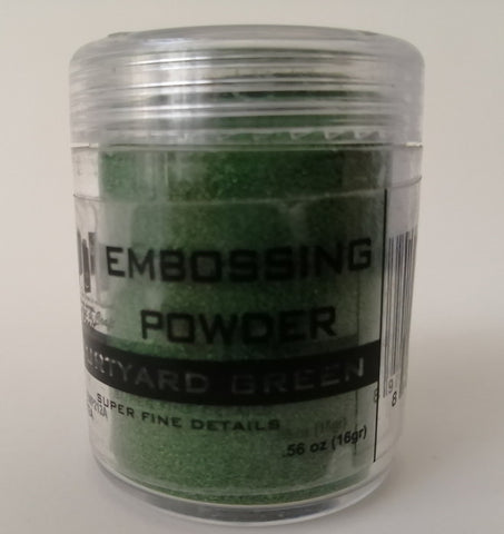 Embossing Powder - Green