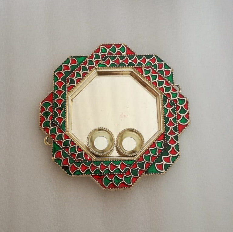Puja Plate - Octagon