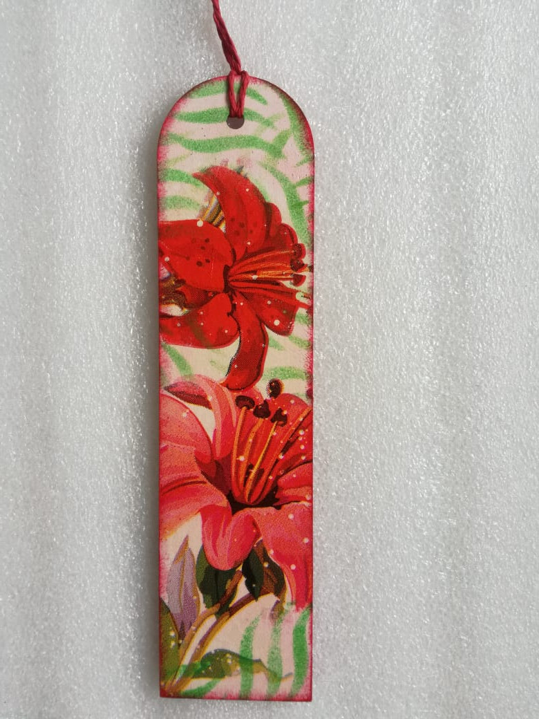 Bookmark - Hibiscus 1