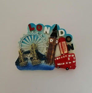 Fridge Magnet - London 2