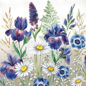 Mixed Meadow Flowers 33 X 33 cm