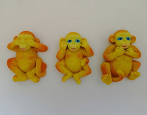 Fridge Magnet - Monkeys