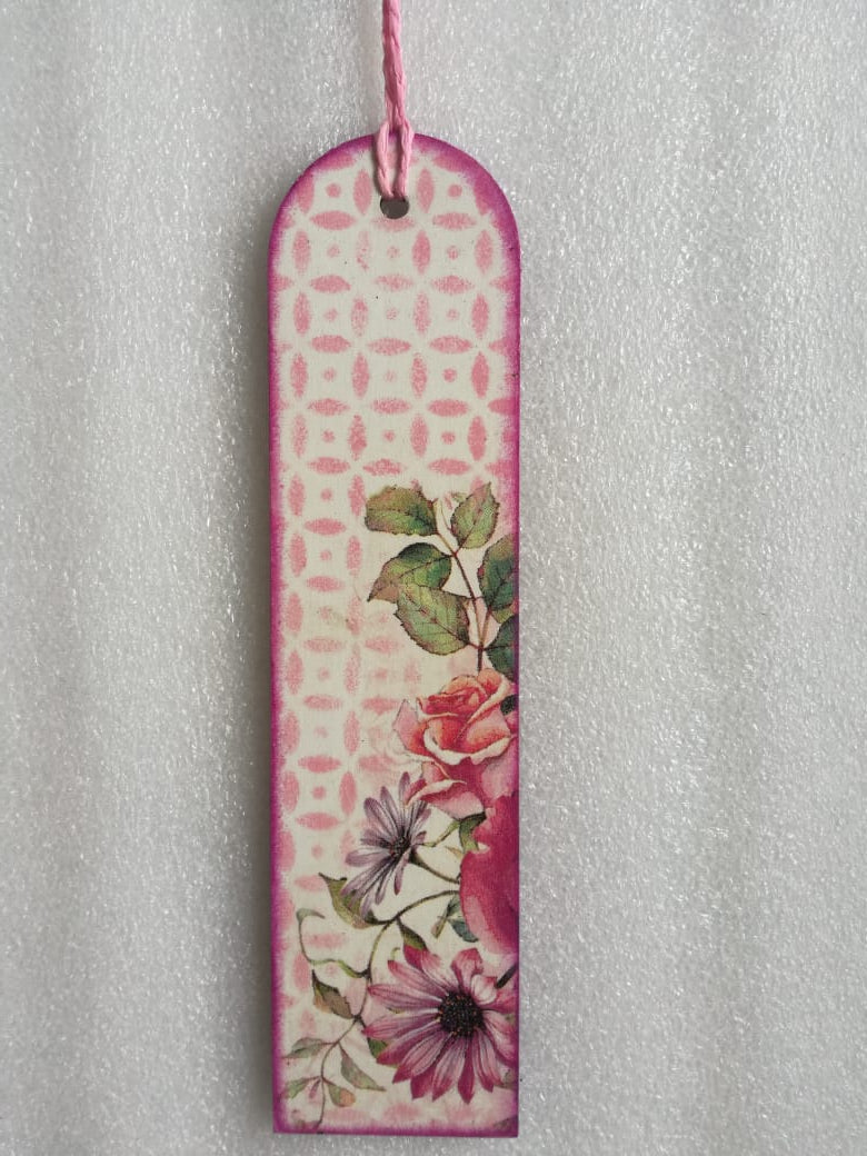 Bookmark - Multi Flower