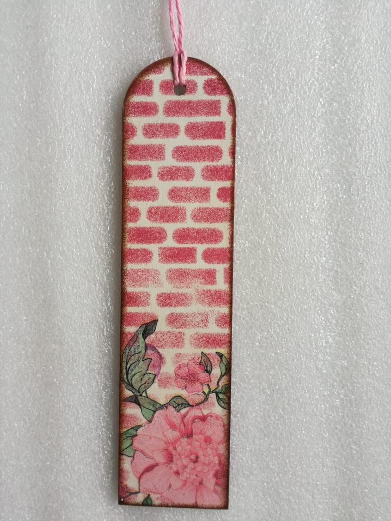 Bookmark - Pink Flowers 2