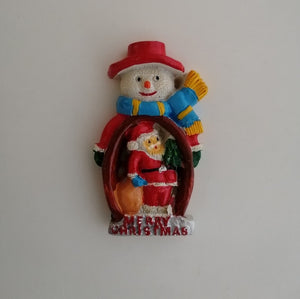 Fridge Magnet - Snowman