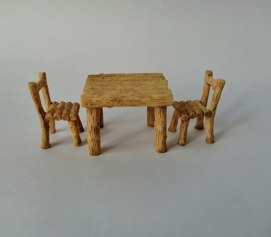 Miniatures - Table & Chair