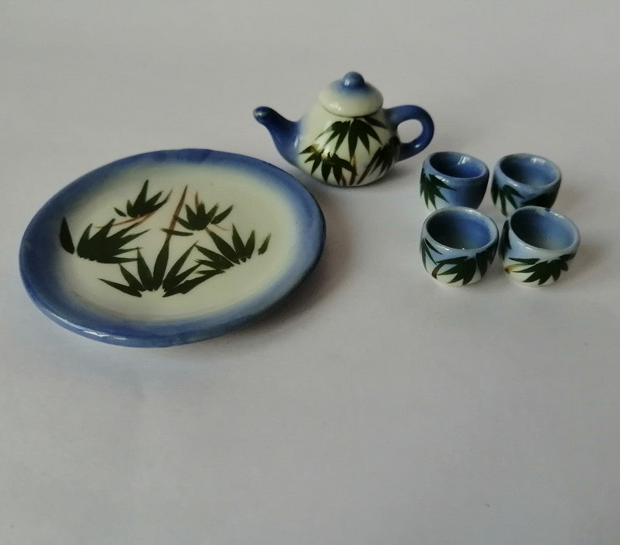 Miniatures - Teaset, 6 pieces