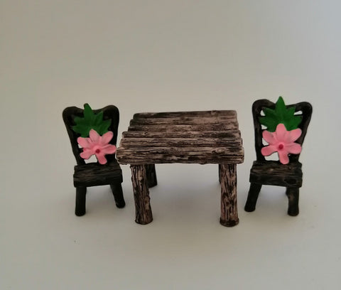 Miniatures - Table and Chair 2