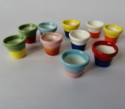 Miniatures - Vase Small, Set of 5