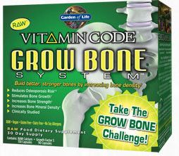 Garden of Life Vitamin Code Grow Bone System - dr Chang Health - Chiropractor in La Jolla