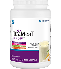 UltraMeal Cardio 360 Pea/Rice Protein Medical Food  - (Pear, Vanilla or Chocolate) - dr Chang Health - Chiropractor in La Jolla