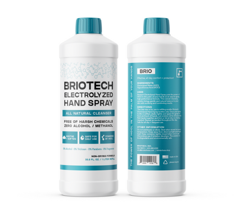 BrioTech Electrolyzed Hand Spray