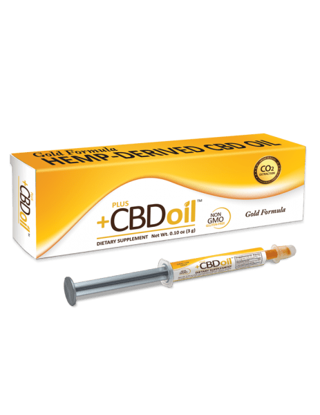 PlusCBD Oil Oral Applicator GOLD (1g/3g/10g) - BEST PRICES! - dr Chang Health - Chiropractor in La Jolla - 1
