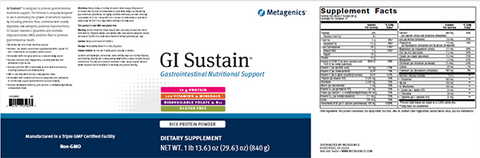 GI SUSTAIN Powder (aka UltraClear Sustain) FREE SHIPPING