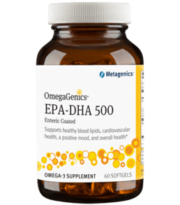 OmegaGenics EPA-DHA 500 Enteric Coated (60sg / 120sg / 240sg) - dr Chang Health - Chiropractor in La Jolla