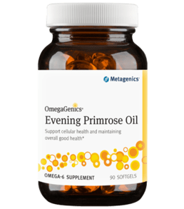 OmegaGenics Evening Primrose Oil (90sg) - dr Chang Health - Chiropractor in La Jolla