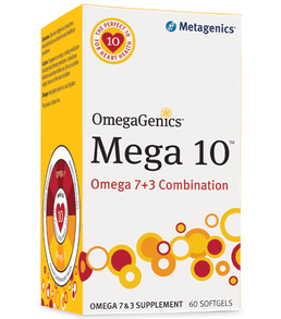 OmegaGenics Mega 10 (60sg) - dr Chang Health - Chiropractor in La Jolla