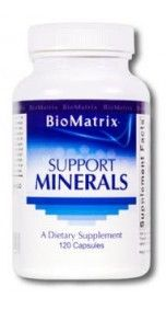 BioMatrix Support Minerals (120c) - dr Chang Health - Chiropractor in La Jolla