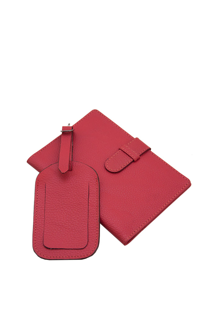 Aisha & Maricel Gift Set, Red Yama