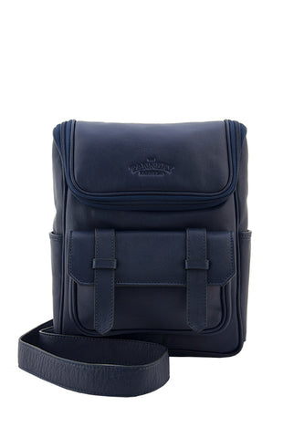 Andrew, Navy Blue Milled