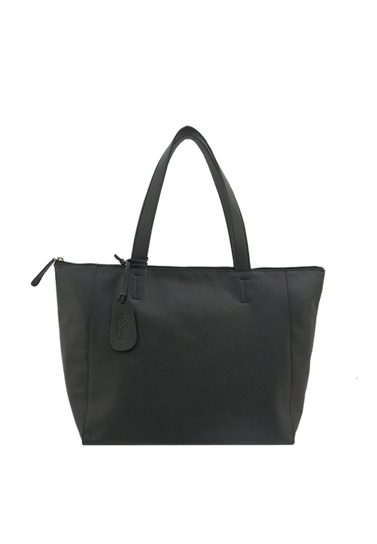 Hannah with zipper, Black
