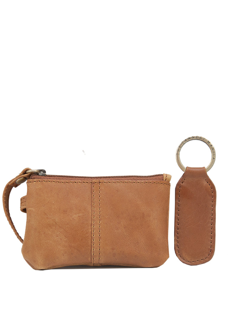 Kelly & Tevyn Gift Set, Tan Distressed