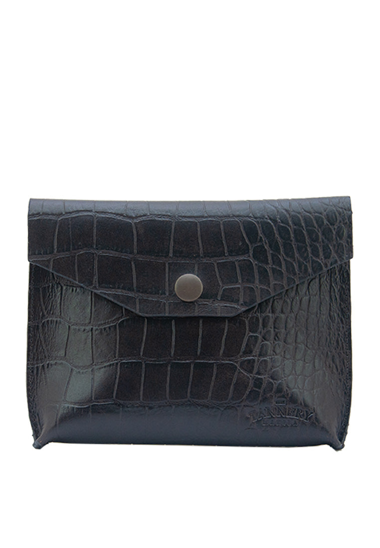 Nica (Medium), Black Crocodile