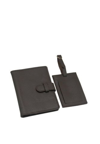 Rael & Russel Gift Set, Brown Yama