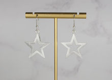 Load image into Gallery viewer, Star Outline Earrings