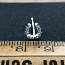 Load image into Gallery viewer, Horseshoe Stud Earrings