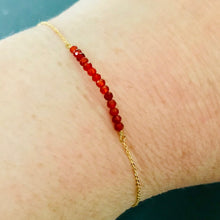 Load image into Gallery viewer, Garnet Bracelet