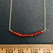 Load image into Gallery viewer, Garnet Necklace