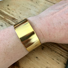 Load image into Gallery viewer, Wide Cuff Bracelet