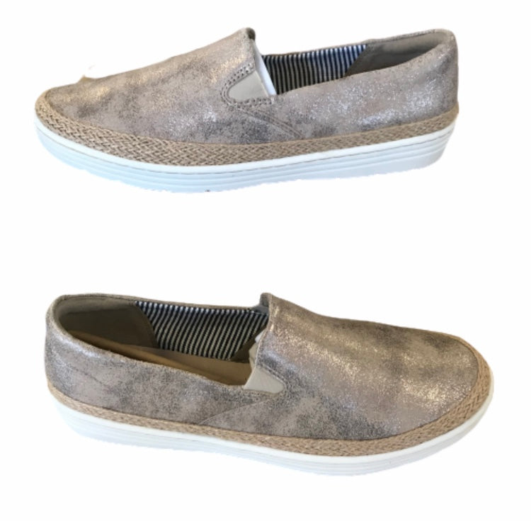 Clark's Leather Slip-on Shoes