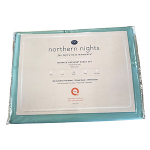 Northern Nights 700TC Wrinkle Defense Queen - Outlet Express