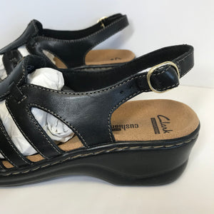 Clark's Leather Lightweight Sandals 7 Medium - Outlet Express