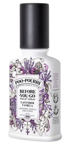 Poo-Pourri Lavender Vanilla Before-You-Go Toilet Spray - Outlet Express