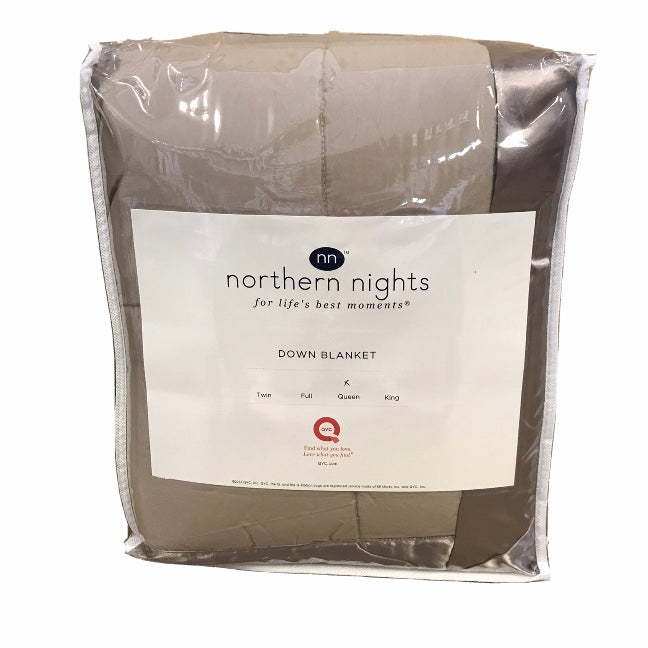 Northern Nights Queen Down Blanket - Outlet Express