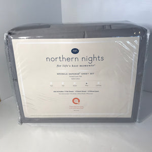 Northern Nights 700TC Wrinkle Defense King - Outlet Express
