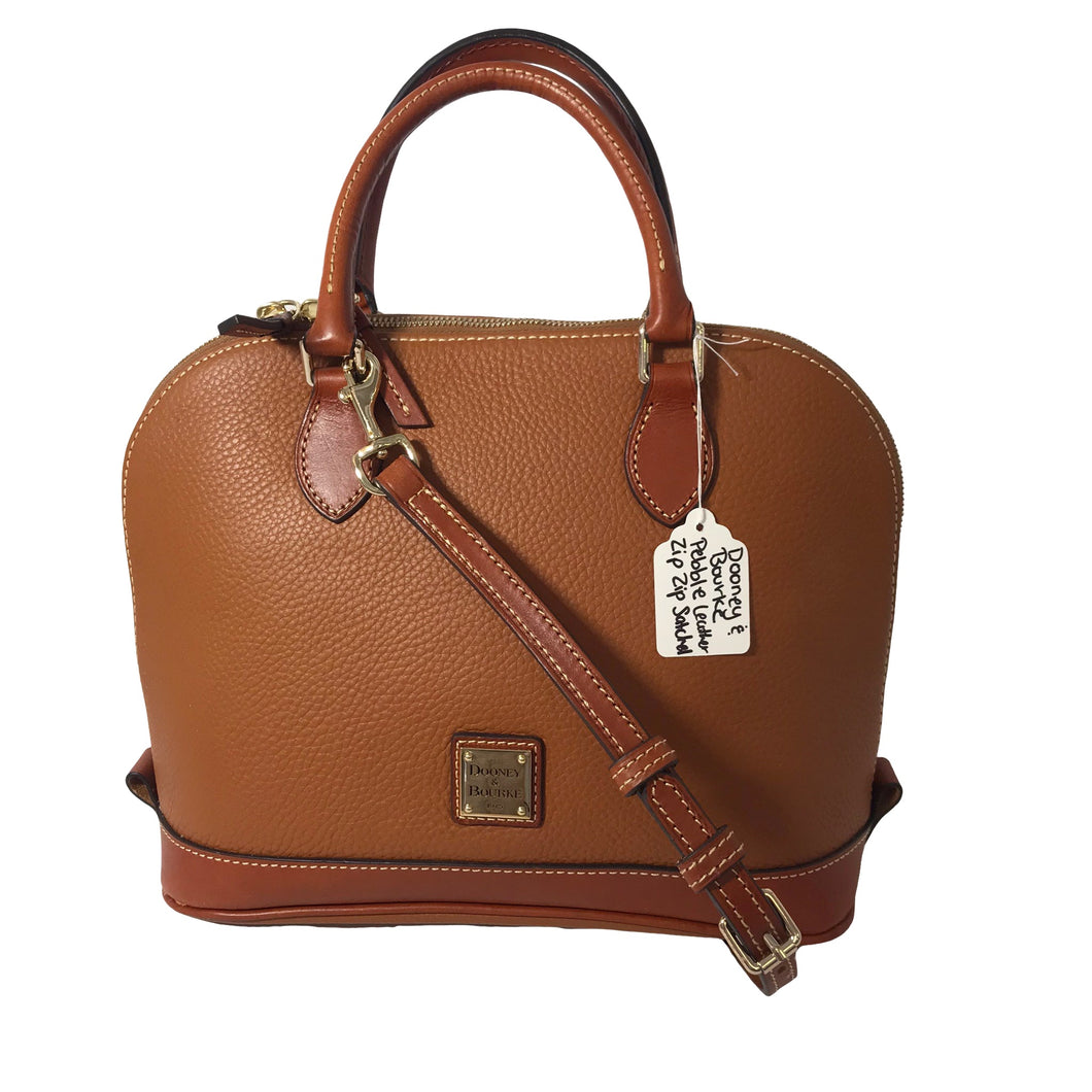 Dooney & Bourke ZipZip Satchel - Outlet Express